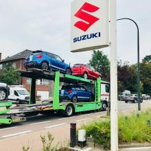De nieuw Suzuki Swift sport zijn daar