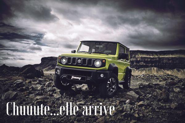 Discover the nieuw Suzuki Jimny